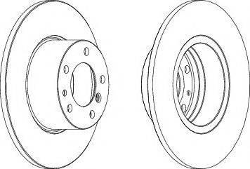 LYNXauto BN-1311 - Bremžu diski interparts.lv