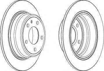 LYNXauto BN-1330 - Bremžu diski interparts.lv