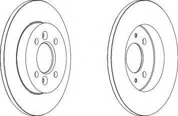 A.B.S. 16214 - Bremžu diski interparts.lv