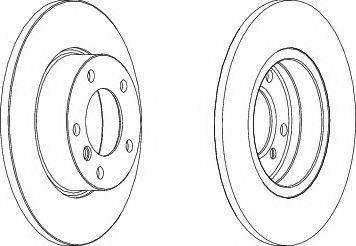 LYNXauto BN-1296 - Bremžu diski interparts.lv