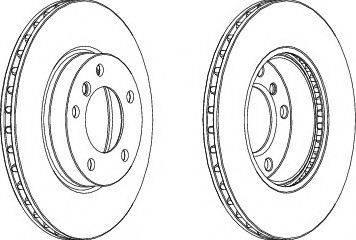 LYNXauto BN-1298 - Bremžu diski interparts.lv
