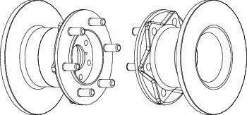 A.B.S. 15032 - Bremžu diski interparts.lv
