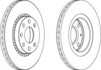 A.B.S. 16093 - Bremžu diski interparts.lv