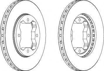 A.B.S. 16038 - Bremžu diski interparts.lv