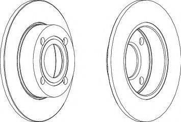 FREMAX BD-4010 - Bremžu diski interparts.lv