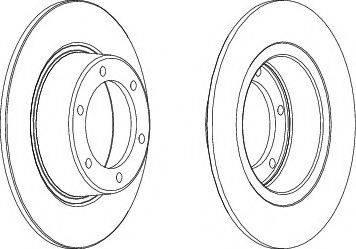 Magneti Marelli 360406017500 - Bremžu diski interparts.lv