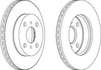 A.B.S. 17027 - Bremžu diski interparts.lv