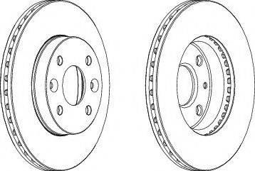 LYNXauto BN-1530 - Bremžu diski interparts.lv