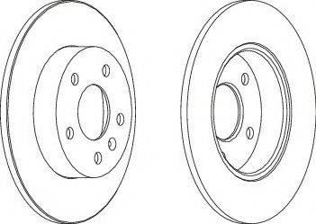 A.B.S. 16955 - Bremžu diski interparts.lv