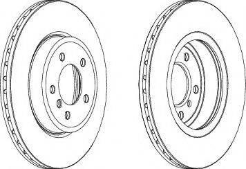 FREMAX BD-6071 - Bremžu diski interparts.lv