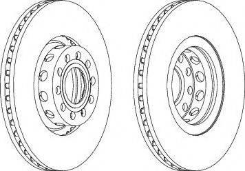 LYNXauto BN-1224 - Bremžu diski interparts.lv