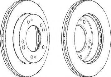 Protechnic PRD2753 - Bremžu diski interparts.lv