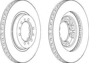 A.B.S. 16168 - Bremžu diski interparts.lv