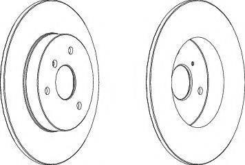 FREMAX BD-4341 - Bremžu diski interparts.lv