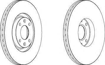 FREMAX BD-4698 - Bremžu diski interparts.lv