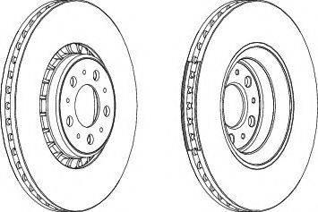 FREMAX BD-7301 - Bremžu diski interparts.lv