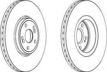 FREMAX BD-7357 - Bremžu diski interparts.lv