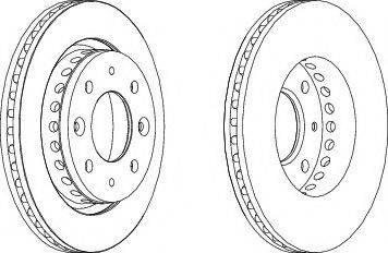 LYNXauto BN-1589 - Bremžu diski interparts.lv