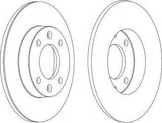FREMAX BD-4746 - Bremžu diski interparts.lv