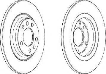 A.B.S. 17555 - Bremžu diski interparts.lv