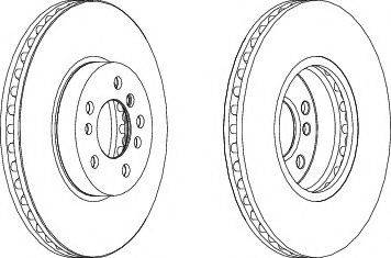 FREMAX BD-6045 - Bremžu diski interparts.lv
