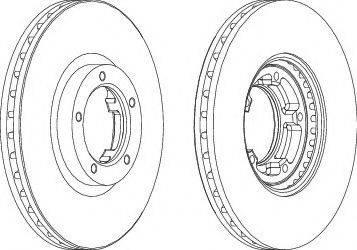 A.B.S. 16195 - Bremžu diski interparts.lv