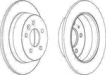 LYNXauto BN-1733 - Bremžu diski interparts.lv