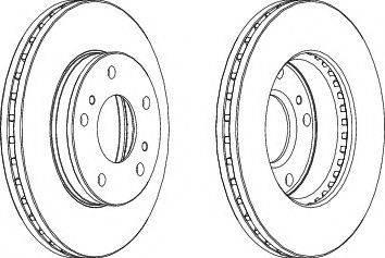 LYNXauto BN-1625 - Bremžu diski interparts.lv