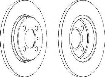 Valeo 186118 - Bremžu diski interparts.lv