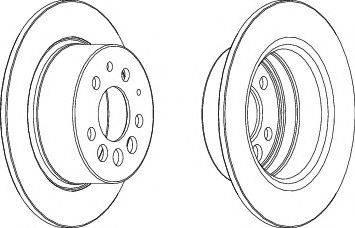 FREMAX BD-5782 - Bremžu diski interparts.lv