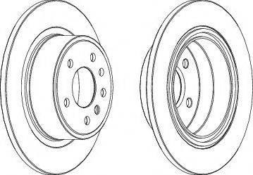 LYNXauto BN-1859 - Bremžu diski interparts.lv