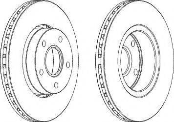LYNXauto BN-1444 - Bremžu diski interparts.lv
