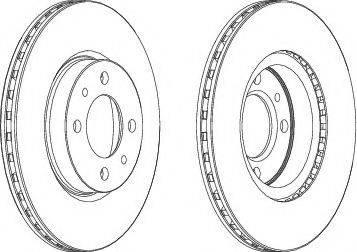 A.B.S. 16046 - Bremžu diski interparts.lv