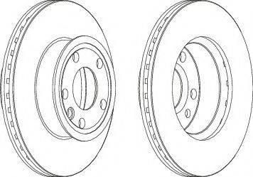 LYNXauto BN-2028 - Bremžu diski interparts.lv