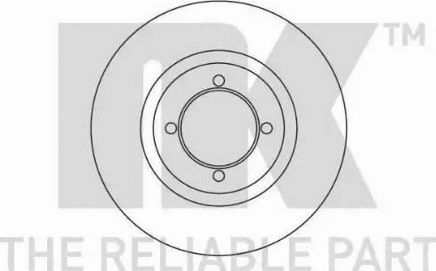 NK 203614 - Bremžu diski interparts.lv