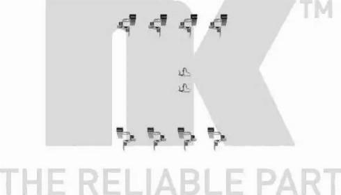 NK 7945191 - Piederumu komplekts, Disku bremžu uzlikas interparts.lv