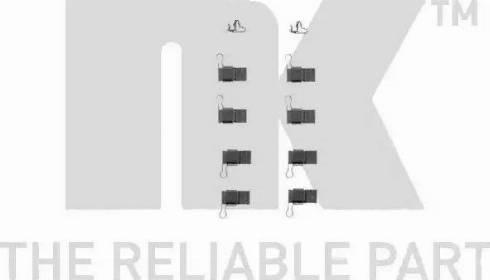 NK 7945193 - Piederumu komplekts, Disku bremžu uzlikas interparts.lv