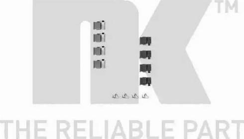 NK 7945133 - Piederumu komplekts, Disku bremžu uzlikas interparts.lv