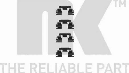 NK 7940249 - Piederumu komplekts, Disku bremžu uzlikas interparts.lv