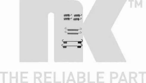 NK 7947868 - Piederumu komplekts, Stāvbremzes mehānisma bremžu loks interparts.lv