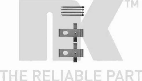 NK 7915634 - Piederumu komplekts, Disku bremžu uzlikas interparts.lv