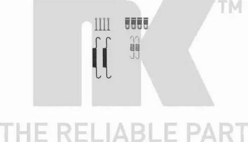 NK 7936881 - Piederumu komplekts, Stāvbremzes mehānisma bremžu loks interparts.lv