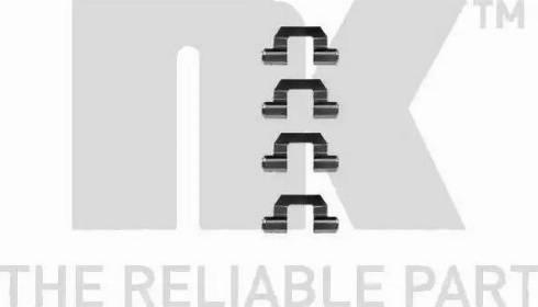 NK 7930077 - Piederumu komplekts, Disku bremžu uzlikas interparts.lv