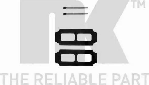 NK 7933987 - Piederumu komplekts, Disku bremžu uzlikas interparts.lv