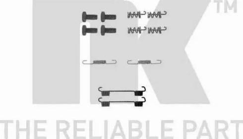 NK 7933622 - Piederumu komplekts, Stāvbremzes mehānisma bremžu loks interparts.lv