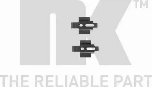 NK 7925154 - Piederumu komplekts, Disku bremžu uzlikas interparts.lv