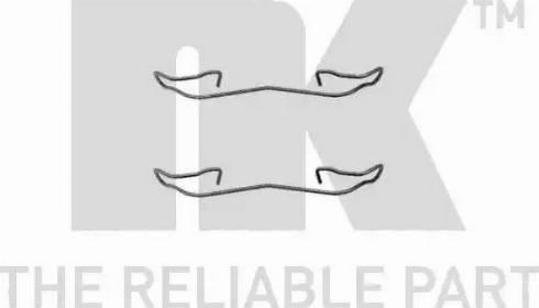 NK 7925187 - Piederumu komplekts, Disku bremžu uzlikas interparts.lv