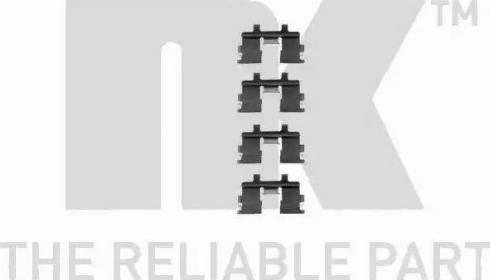 NK 7922015 - Piederumu komplekts, Disku bremžu uzlikas interparts.lv