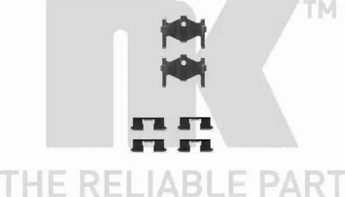 NK 7922185 - Piederumu komplekts, Disku bremžu uzlikas interparts.lv