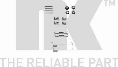 NK 7922848 - Piederumu komplekts, Stāvbremzes mehānisma bremžu loks interparts.lv